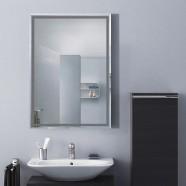 28 x 20 po Miroir Mural Salle de Bain Classique Rectangulaire sans Cadre - Accrochage Vertical (DK-OD-C226B)