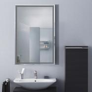 36 x 24 po Miroir Mural Salle de Bain Classique Rectangulaire sans Cadre - Accrochage Vertical (DK-OD-C226A)