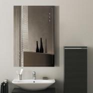 36 x 24 po Miroir Mural Salle de Bain Classique Rectangulaire sans Cadre - Accrochage Vertical (DK-OD-B047A)
