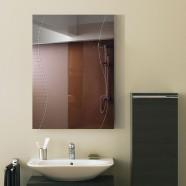 28 x 20 po Miroir Mural Salle de Bain Classique Rectangulaire sans Cadre - Accrochage Vertical (DK-OD-B068B)
