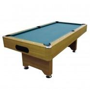 8 Pied Table de Billard avec Système de Retour de Boules et Accessoires (ZLB-P12)