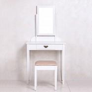 Coiffeuse avec Tabouret et Miroir (JI3241)