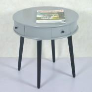 22.0''D Table à Café Ronde avec 4 Tiroirs (JI3293)