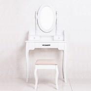 Coiffeuse avec Tabouret et Miroir (JI3239)