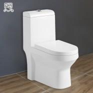 Toilette Monopièce à Double Chasse et à Action Siphonique (DK-ZBQ-10004A)