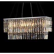 Suspension Cristale à Armature en Fer Forgé - Style Moderne (PL7090)