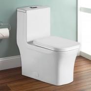 Toilette Monopièce à Double Chasse et à Action Siphonique (DK-ZBQ-12044)