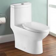 Toilette Monopièce à Double Chasse et à Action Siphonique (DK-ZBQ-12244)