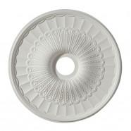 24 po Médaillon de Plafond Blanc en Polyréthane (DK-BA1062A)