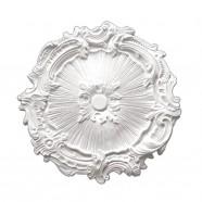 16.7 po Médaillon de Plafond Blanc en Polyréthane (DK-BA2042C)