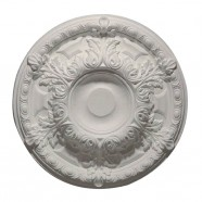 23 po Médaillon de Plafond Blanc en Polyréthane (DK-DKM5002)