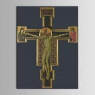 Peinture à l'Huile Imprimée sur Toile en Fibre Chimique  - Personnage (DK-PH-DH21)
