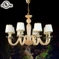 Lustre à 8 Lumières - Verre Style Moderne/Diamètre de 30 po (HD9330-8)