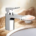 Decoraport Robinet de Lavabo&Vasque - Laiton Fini Chrome (YDL-W008)