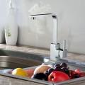 Robinet de Cuisine en Laiton Fini Chrome (82H35-CHR)