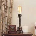 Lampe de Table Tuyau d'Eau Vintage en Fer (DK-6101-T1)