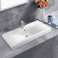 Lavabo Blanc de Dessus du Comptoir pour Vanité Salle de Bain (CL-4038-100)