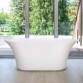 59 po Baignoire Autoportante - Acrylique en Blanc (DK-PW-60572)