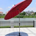 8.2 pi Parasol Extérieur Inclinable Résistant au Vent  (912AL-1)