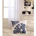 Coral Printed Cotton Cushion Cover (DK-LG003-1)