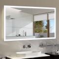 55 x 36 po Miroir LED Horizontal Anti-buée avec Bluetooth - Luminosité Réglable (DK-OD-N031-T)