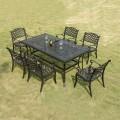 Salle à Manger de Jardin de 7 Pièces: Table à Manger, 6 Chaises (ZL-914)