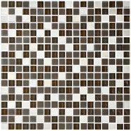 12 po x 12 po Carreau Mosaïque en mélange de Verre et de Pierre en épaisseur de 8mm (AD801022)