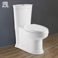 CUPC Toilette Monopièce Économique d'Eau en Céramique à Double Chasse (DK-ZBQ-12235)