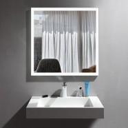 36 x 36 po Miroir LED Vertical Anti-buée - Luminosité Réglable (DK-OD-N031-DW)