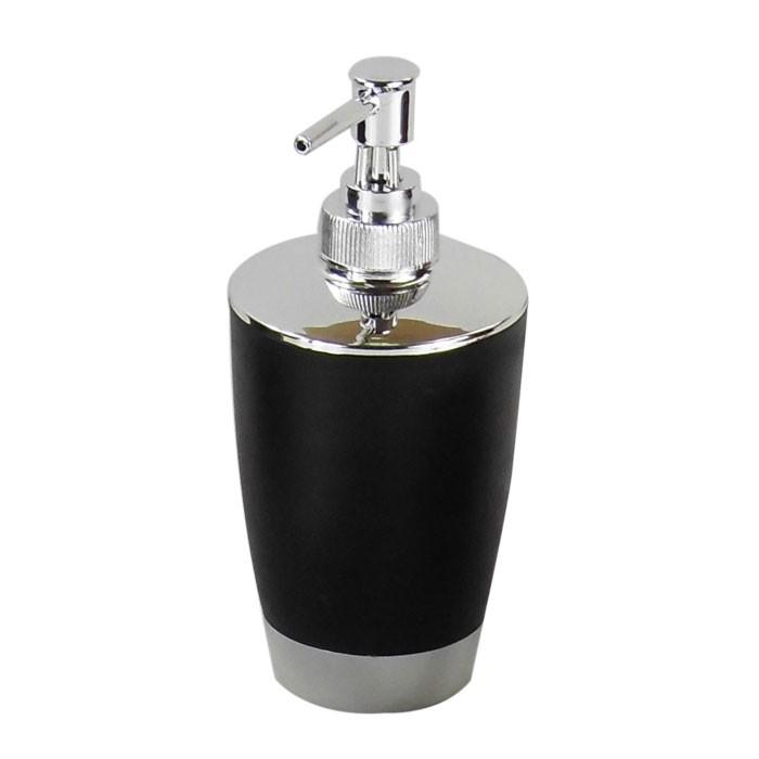 set 4 accessoires salle de bain noir dk st008 decoraport canada. Black Bedroom Furniture Sets. Home Design Ideas