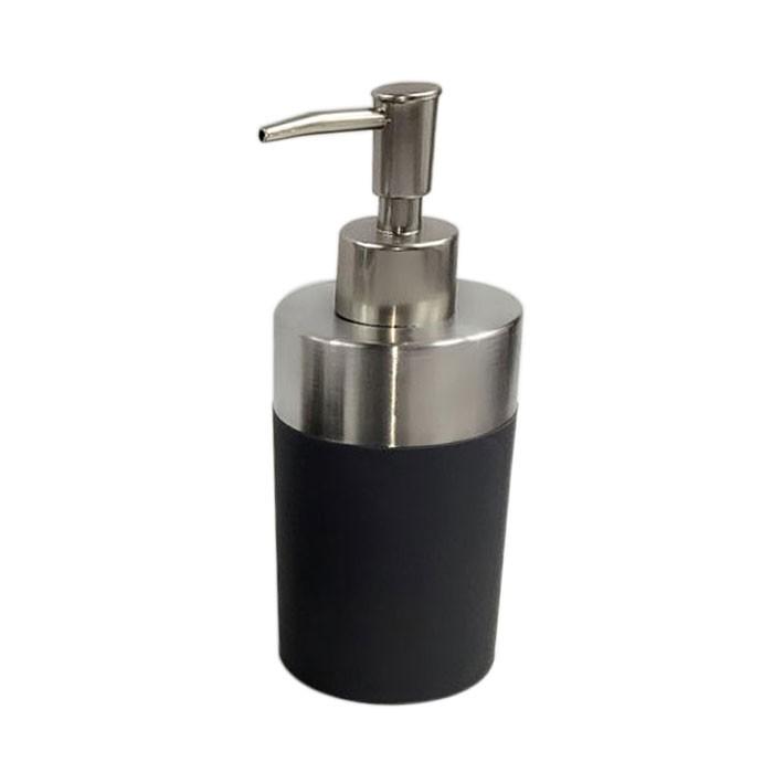 Set 4 accessoires salle de bain gris dk st021 for Set accessoires salle de bain design