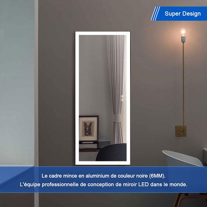 Miroir Chambre LED Pleine Longueur