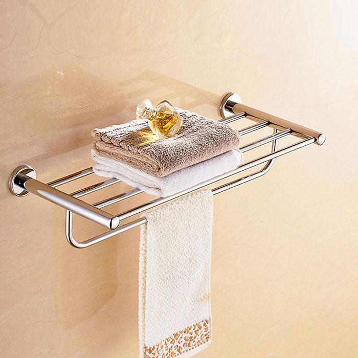 barre porte serviettes de po laiton fini chrome 2816 decoraport canada. Black Bedroom Furniture Sets. Home Design Ideas