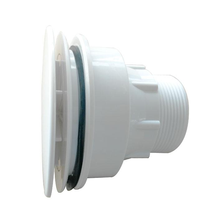 Drain plastique pour base de douche