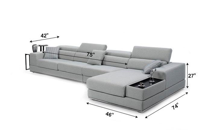 Sofa en Tissu