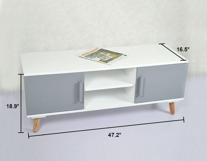 47 2 w meuble tv ji3280 decoraport canada for Meuble tv canada
