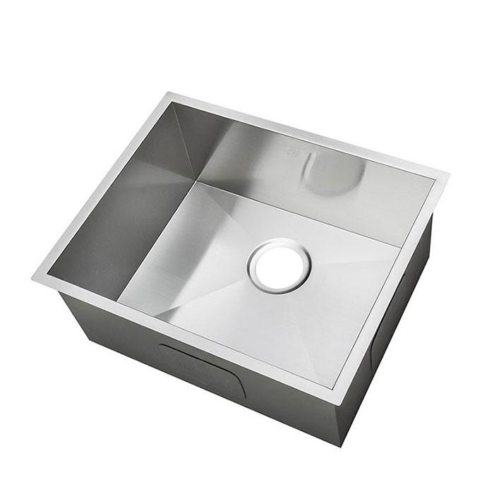 Evier de cuisine l 39 angle droit en acier inoxydable as2522 r0 decoraport canada - Ecoulement evier cuisine ...