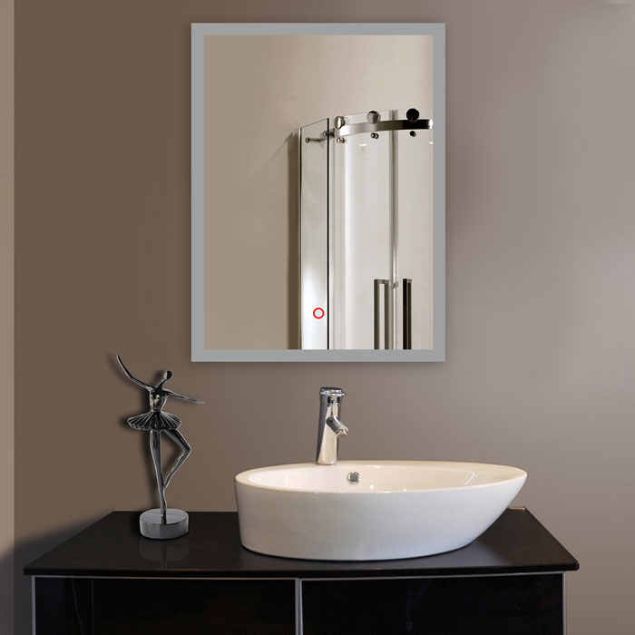 How High To Hang Vanity Lights : LED Bathroom Wall Mirror Illuminated Lighted Vanity Mirror with Touch Button eBay