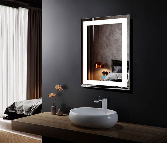 led bathroom wall mirror illuminated lighted vanity mirror 10826