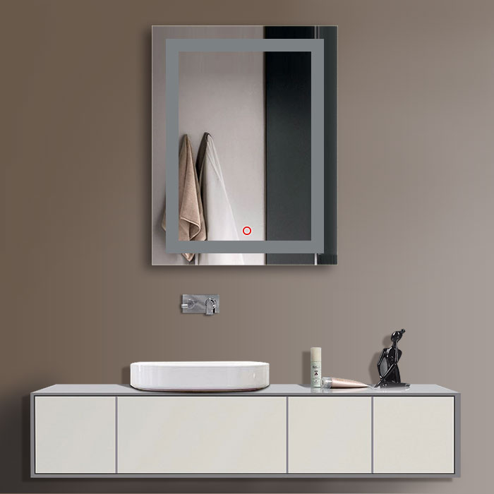 Does not apply. Decoraport Vertical LED Illuminated Lighted Bathroom Wall Mirror w