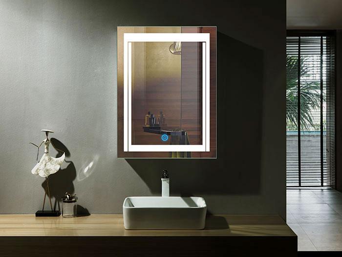 miroir de haute qualité de 5mm montage à vis inclus lumen 2700