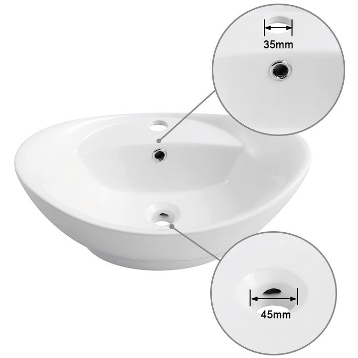 Above Counter Vessel Sink