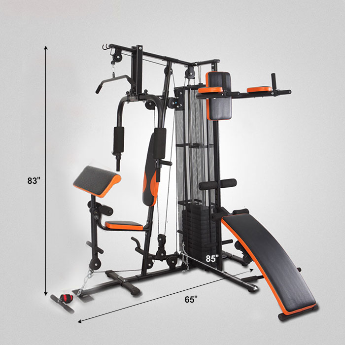 Multi stack function home gym hg decoraport