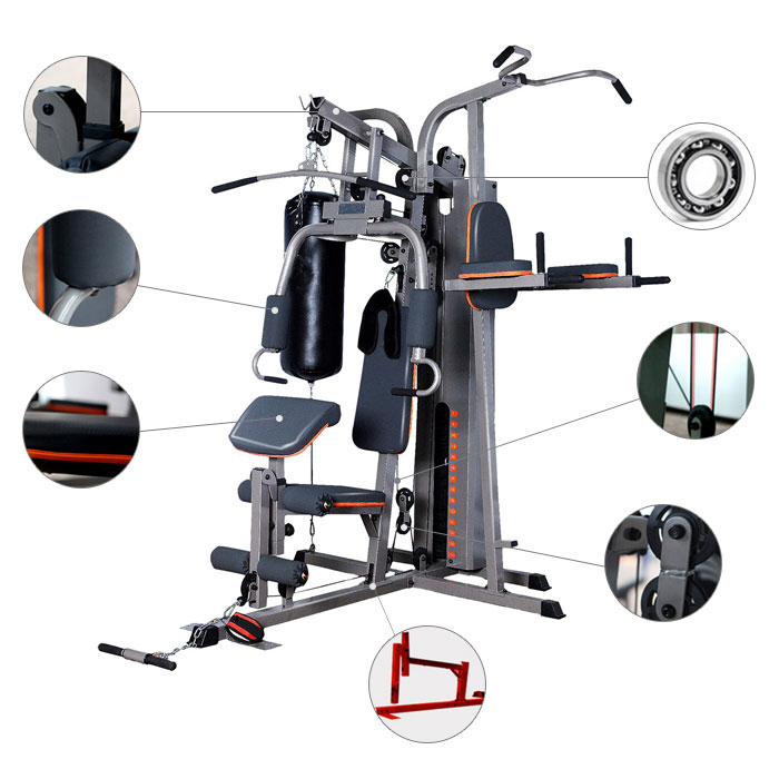Multi stack function home gym jx decoraport