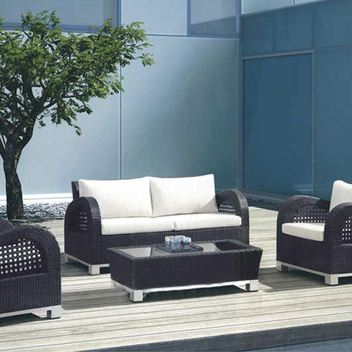 salon de jardin en rotin avec coussin jms 692. Black Bedroom Furniture Sets. Home Design Ideas