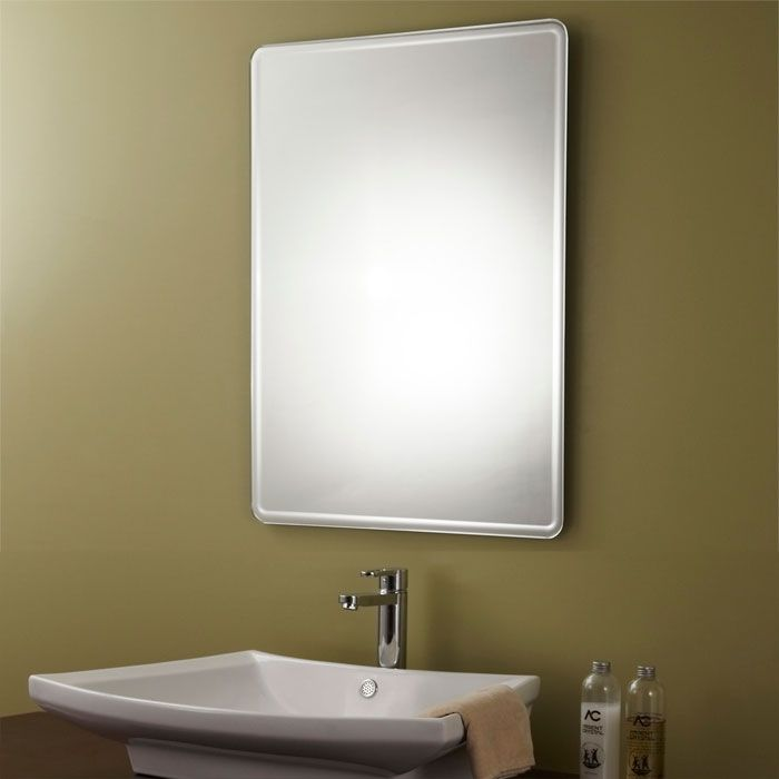 Framed Bathroom Silvered Mirror