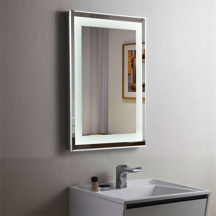 Decoraport Vertical LED Illuminated Lighted Bathroom Wall