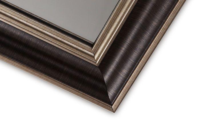 Framed Bathroom Silvered Mirror